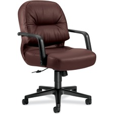 HON 2092SR69T HON Pillow-Soft 2090 Managerial Mid-back Chair HON2092SR69T