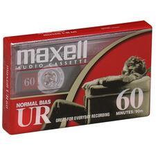 Maxell Type I Audio Cassette