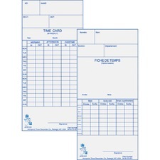ACP099110000 - Acroprint Weekly/Bi-Weekly Time Cards