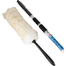 "Unger Duster Telescoping Pole Kit - Lamb's Wool Bristle - 52"" (1320.80 mm) Overall Length - 1 Each"