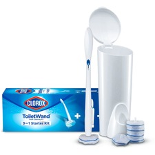CLO 03191 Clorox ToiletWand Disposable Toilet Clean System CLO03191