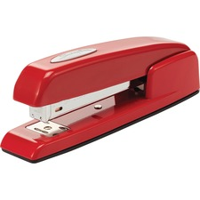 "Swingline 747 Rio Red Stapler - 25 Sheets Capacity - 210 Staple Capacity - Full Strip - 1/4"" Staple Size - Rio Red"