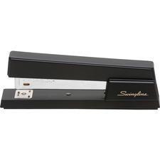 """Swingline Premium Commercial Stapler - 20 Sheets Capacity - 210 Staple Capacity - Full Strip - 1/4"""" Staple Size - Black"""