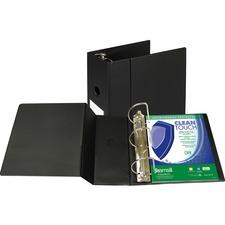 SAM 16300 Samsill Clean Touch Antimicrobial D-Ring Binder SAM16300
