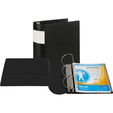 SAM 17600 Samsill Contour Cover Label Reference Binder SAM17600