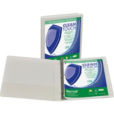SAM 18237 Samsill Antimicrobial Insertable Round Ring Binder SAM18237