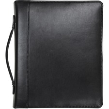 SAM 15540 Samsill Regal Leather iPad Pocket Zipper Binder SAM15540