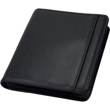 SAM 15650 Samsill iPad Pocket Professional Zipper Binder SAM15650