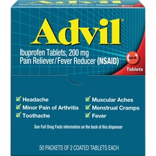 ACM 15000 Acme Advil Pain Reliever Single Packets ACM15000