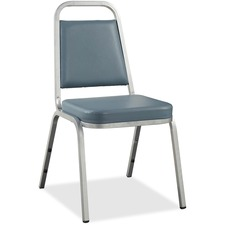 LLR 62506 Lorell Vinyl Upholstered Stacking Chairs LLR62506