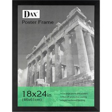 DAX 2863V2X Burns Grp. Ebony Wood Poster Frame DAX2863V2X