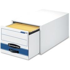 FEL 00312 Fellowes Bankers Box Steel Plus Storage Drawers FEL00312