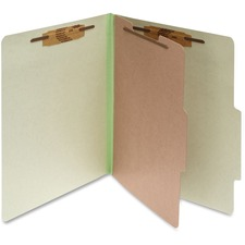 ACC 15044 ACCO Durable 1-Div Pressbrd Classification Folders ACC15044