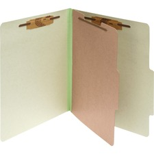 ACC16044 - Acco Pressboard 4-Part Classification Folders
