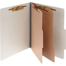 ACC16056 - Acco Pressboard 6-Part Classification Folders
