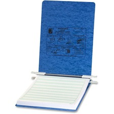 "Acco 8-12""x11"" Presstex Hanging Data Binders - 6"" Binder Capacity - Letter - 8 1/2"" x 11"" Sheet Size - Light Blue - Recycled - 1 Each"