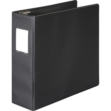 WLJ 38349NHB Acco/Wilson Jones 383 Label Holder D-Ring Binder WLJ38349NHB