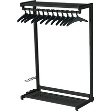 QRT 20224 Quartet 2-Shelf Garment Rack QRT20224