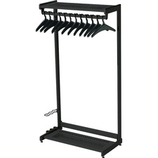 QRT 20225 Quartet 2-Shelf Garment Rack QRT20225