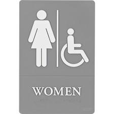 QRT 01415 Quartet ADA Women Access Sign QRT01415