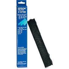 EPS 8758 Epson LX-300 Plus Impact Prntr Black Fabric Ribbon EPS8758