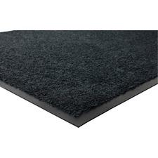 """Genuine Joe Platinum Series Indoor Wiper Mats - Indoor - 66"""" (1676.40 mm) Length x 43.50"""" (1104.90 mm) Width - Rubber - Black"""