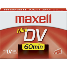Maxell 298017 MiniDV Videocassette