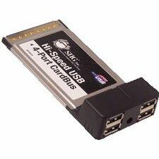 SIIG Hi-Speed USB 4-Port CardBus