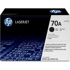 HP 70A (Q7570A) Original Toner Cartridge - Single Pack - Laser - 15000 Pages - Black - 1 Each