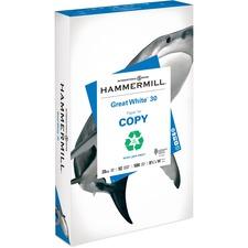 HAM 86704 Hammermill Great White 30 Copy Paper HAM86704