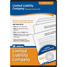ABF SS4309 Adams Limited Liability Companies Software Set ABFSS4309