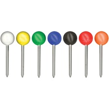 GEM MTA Gem Office Products Round Head Map Tacks  GEMMTA