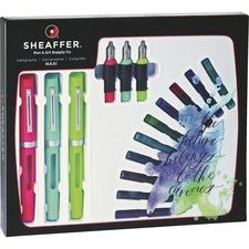 SHF 73404 Sheaffer Classic 3-Pen Calligraphy Kit SHF73404