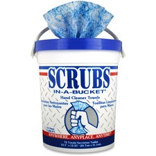 ITW 42272EA ITW Scrubs In-A-Bucket Hand Cleaner Towels ITW42272EA