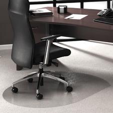 FLR 119923SR Floortex Low/Med Pile Contoured Chairmat FLR119923SR