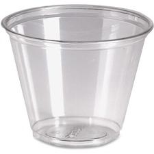 DXE CP9APK Dixie Foods Crystal Clear Plastic Cups DXECP9APK