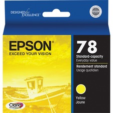Epson Claria Original Ink Cartridge - Inkjet - Yellow - 1 Each