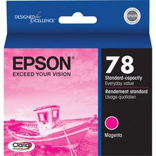 Epson Claria Original Ink Cartridge - Inkjet - Magenta - 1 Each