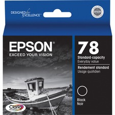 Epson Claria Original Ink Cartridge - Inkjet - Black - 1 Each