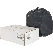 NAT00988 - Nature Saver Black Low-density Recycled Can Liners