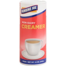 Genuine Joe Nondairy Creamer Canister - 340.2 g Canister - 3/Pack