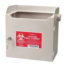 CVD SLWC019624 Covidien Monoject Sharps Locking Wall Cabinet CVDSLWC019624