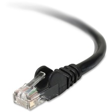 BLK A3L98005BLKS Belkin RJ45 High-Performance CAT 6 Patch Cable BLKA3L98005BLKS