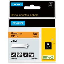 DYM 18436 Dymo Colored Industrial Rhino Vinyl Labels DYM18436