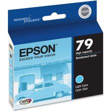 Epson 79 Original Ink Cartridge - Inkjet - Light Cyan - 1 Each
