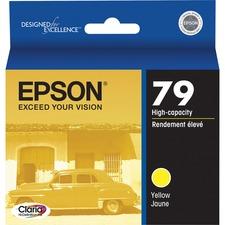 Epson 79 Original Ink Cartridge - Inkjet - Yellow - 1 Each