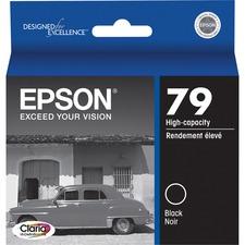 Epson 79 Original Ink Cartridge - Inkjet - Black - 1 Each