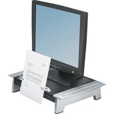 FEL 8036601 Fellowes Standard Monitor Riser w/Copy Holder FEL8036601