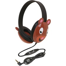 Ergoguys Kids Stereo PC Bear Design Headphone