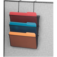 FEL75901 - Fellowes Mesh Partition Additions™ Triple File Pocket